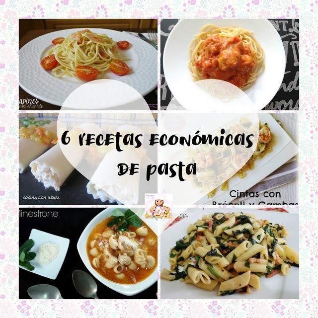 recetas económicas de pasta