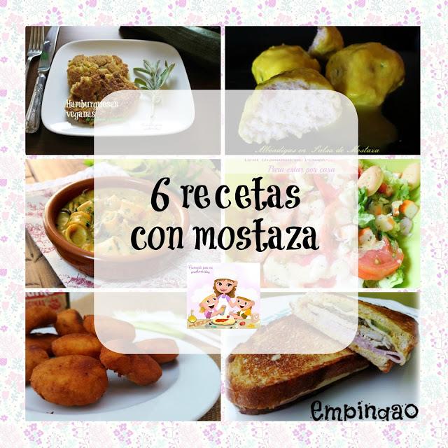 recetas con mostaza