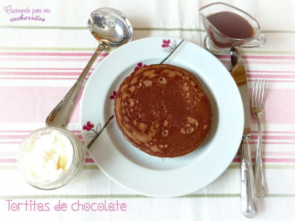 tortitas de chocolate