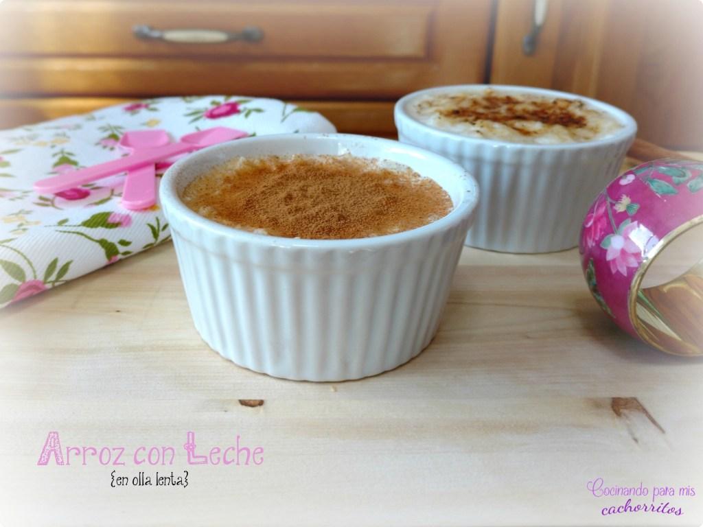 arroz con leche en Crock-Pot