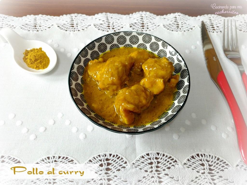 pollo al curry con leche de coco