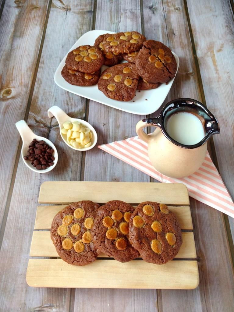 cookies integrales de chocolate