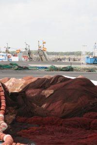 puerto pesquero sanlucar de barrameda