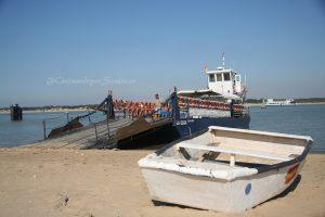 barcaza de cristobal en sanlucar de barrameda