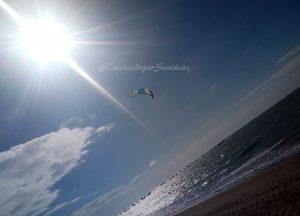 Practica kitesurf en sanlúcar de barrameda