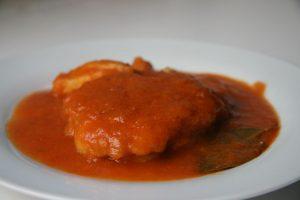 Receta de cazón de tomate