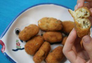 Como hacer croquetas de pescado