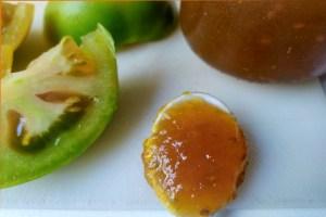 Receta de mermelada de tomates verdes
