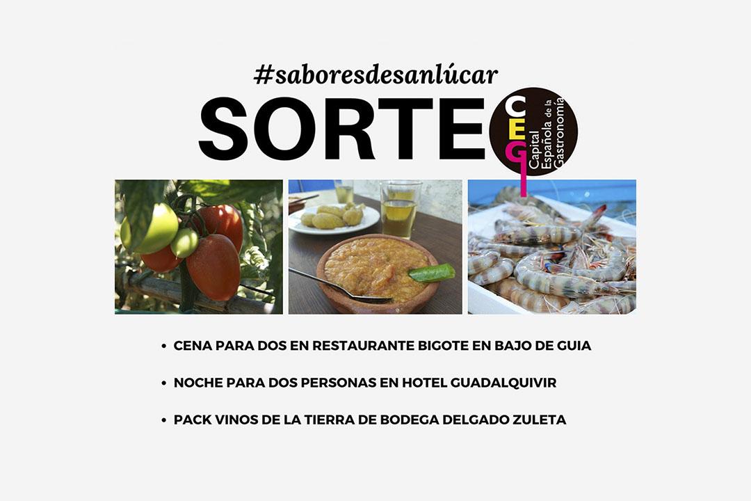 SORTEO #saboresdesanlúcar. Actualizado.