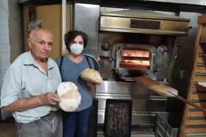 Receta de pan casero. Cocinando por Sanlúcar