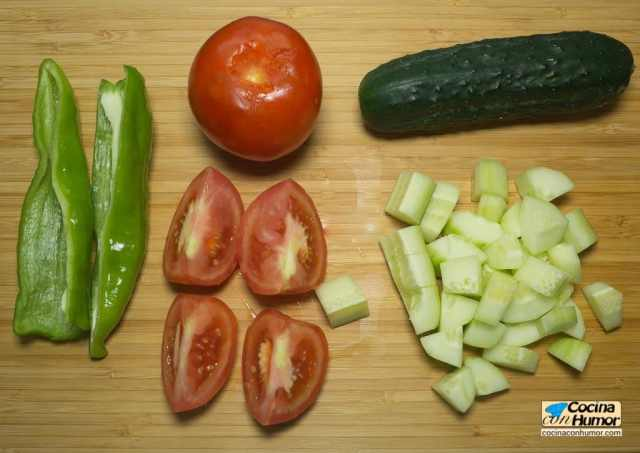 Gazpacho andaluz ingredientes