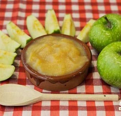 Receta de compota de manzana