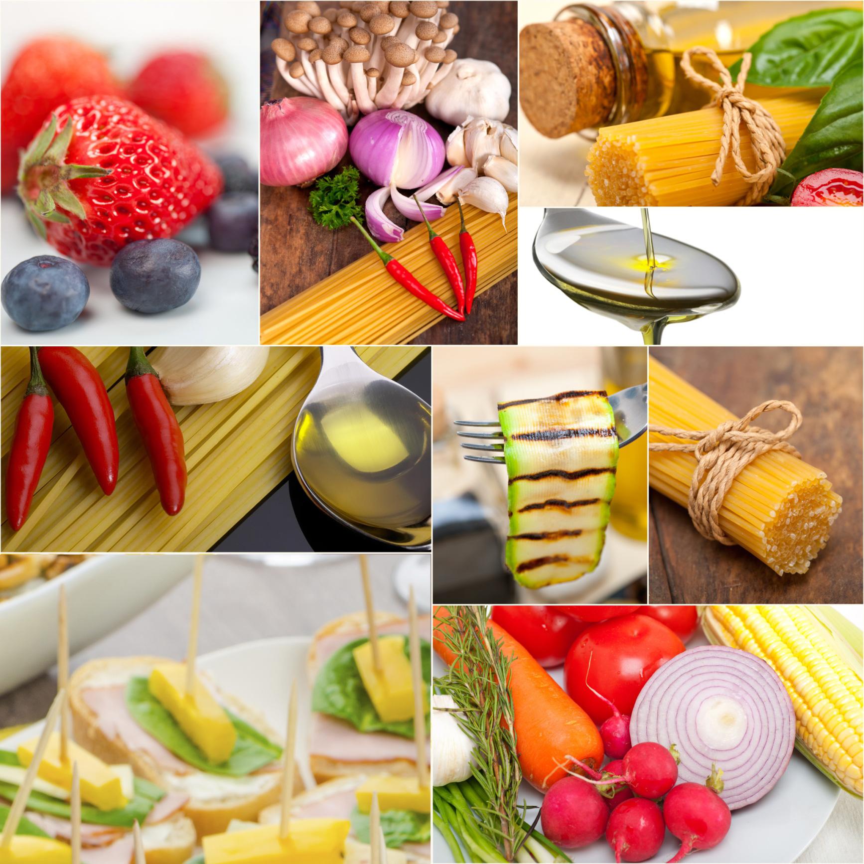 Las 10 recomendaciones de la dieta mediterrnea  Cocinar