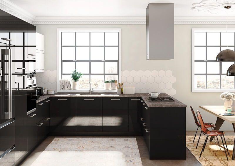 Planificar una cocina peque a tpc cocinas - Planificar una cocina ...