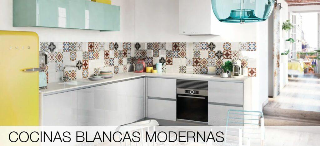 TPC Cocinas  cocinas blancas modernas
