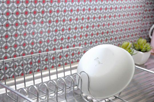Azulejos Adhesivos De Cocina Retro Imgenes Y Fotos