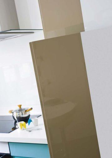 Mueble de cocina marrn caf con leche  Imgenes y fotos