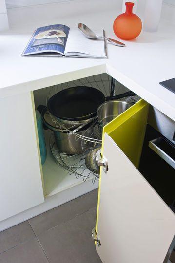 Mueble esquinero de cocina  Imgenes y fotos
