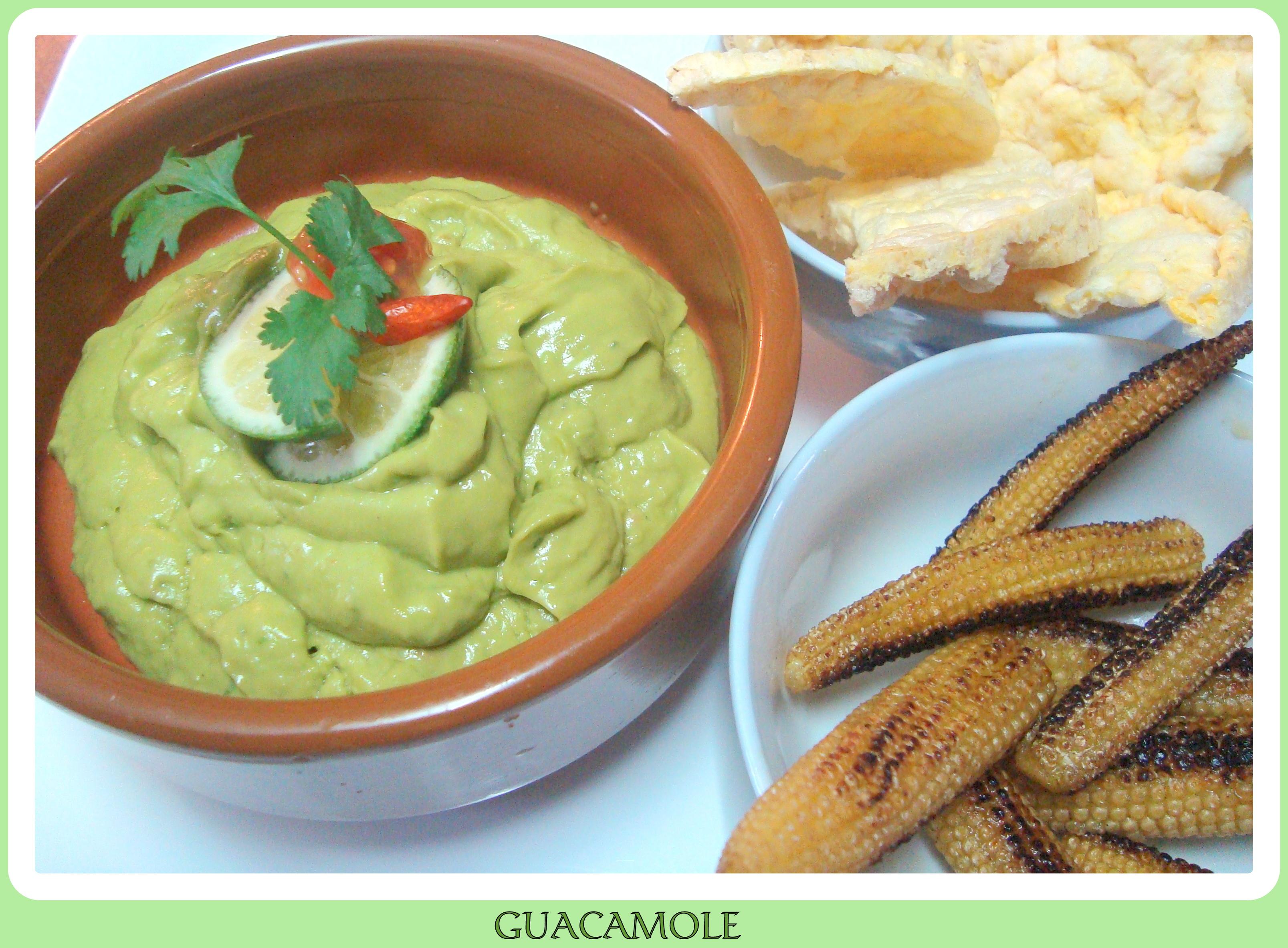 Comida MexiSana II Salsa Guacamole  Cocina sana con