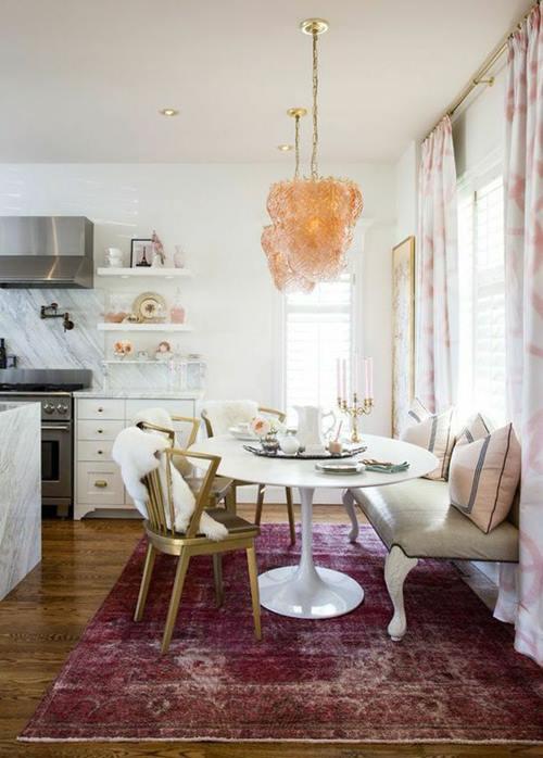 Mesas redondas de diseo para cocinas modernas  cocinas