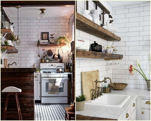 10 trucos para decorar cocinas rsticas  cocinas con encanto