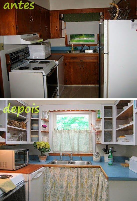Cmo reformar una cocina pequea low cost  cocinas con