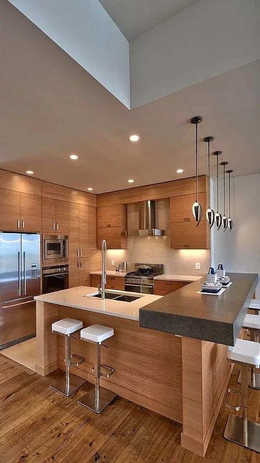 Muebles de madera para cocina  Diseos rsticos modernos y ms