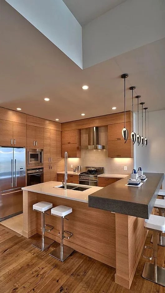 Muebles de madera para cocina  Diseos rsticos modernos