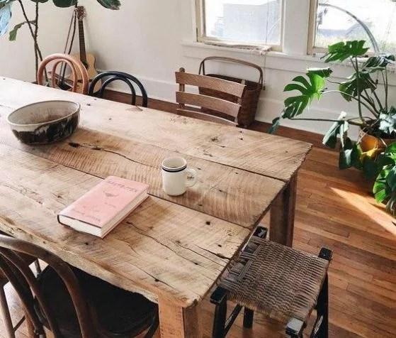 Comedores de madera diseos e ideas perfectos para el 2018