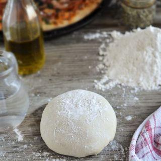 Masa de pizza casera y primera video receta!