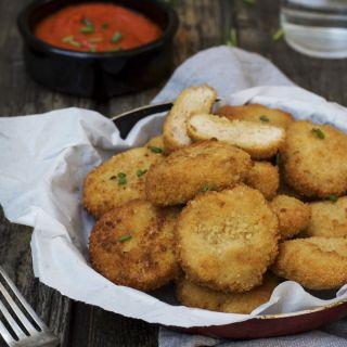 Nuggets de pollo caseros, super crujientes y fáciles de preparar