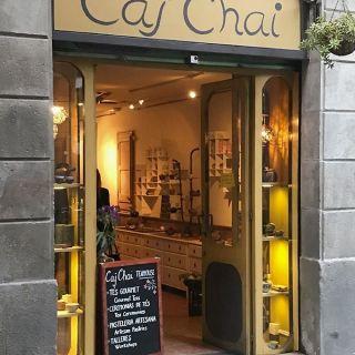 La hora del té, teterías en Barcelona III: «Caj Chai»