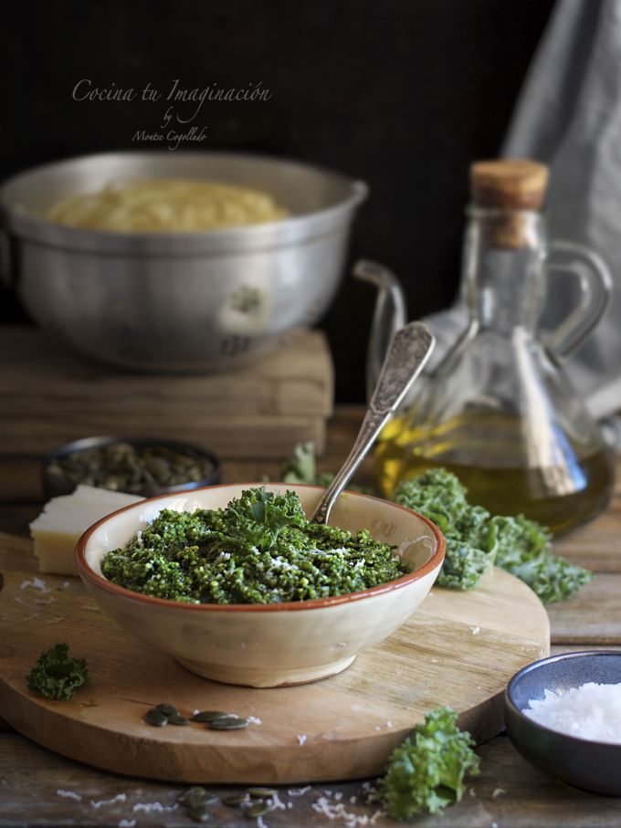 pesto de kale