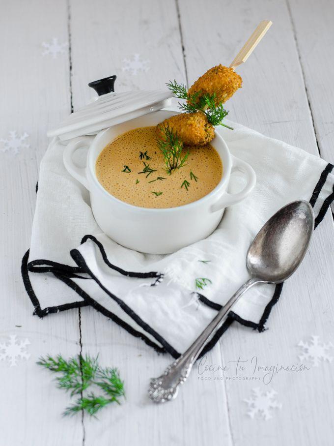crema de mejillones