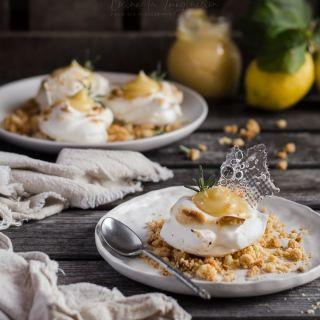 Lemon pie, tarta de limón en versión fácil individual