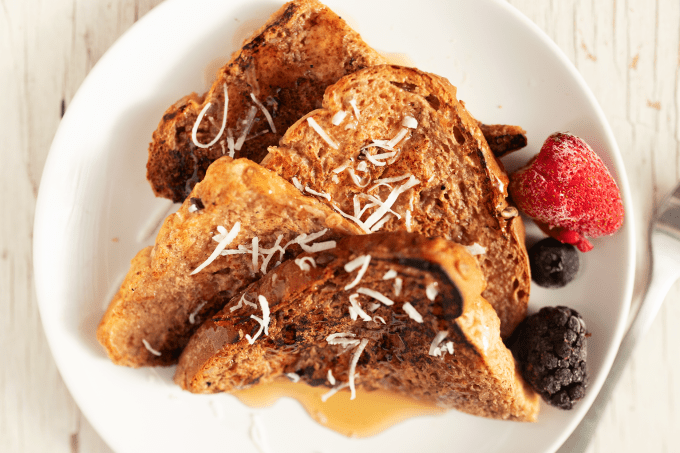 FRENCH TOAST VEGANO