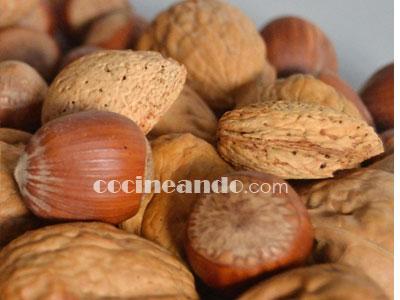 Usos en cocina de los frutos secos