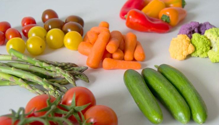 hortalizas - calsificacion de hortalizas segun la parte que nos comemos - diferencia entre verduras y hortalizas