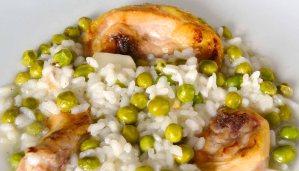 Receta de arroz con guisantes y pollo - recetas de arroces -