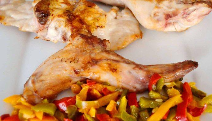 receta de conejo marinado con romero y tomillo - recetas con conejo - recetas realfooding o real food
