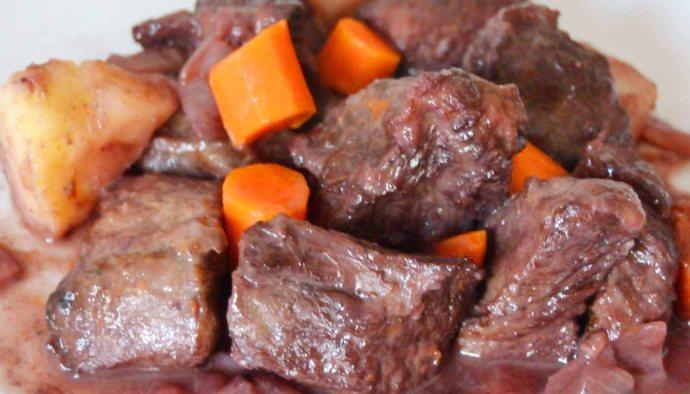 Receta de gulash o goulash estilo húngaro - recetas de ternera - recetas de carnes - recetas realfooding o real food