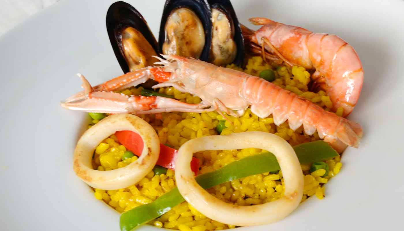 receta de paella de marisco - paellas de maricos - mariscos de paella - recetas tradicionales - recetas faciles - recetas real food - recetas de arroces - recetas de paellas