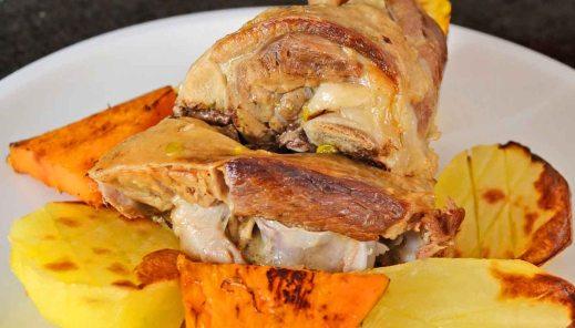 Receta de pierna de cordero asada a la segoviana - recetas de cordero - recetas de carnes - recetas realfooding o real food