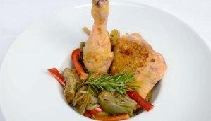 Receta de pollo guisado con verduras - recetas de pollo - recetas realfooding o real food