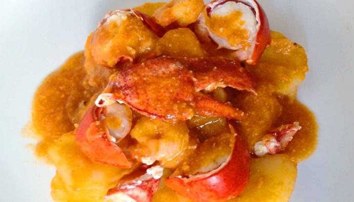 Receta de caldereta de bogavante - recetas de pescados y mariscos - recetas realfooding o real food