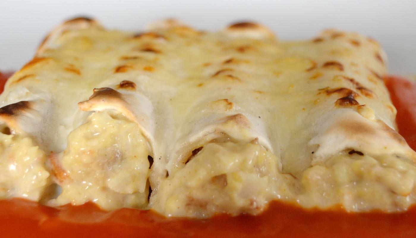 Recta de canelones de pescado y marisco - recetas de canelones y lasañas - recetas realfooding o real food