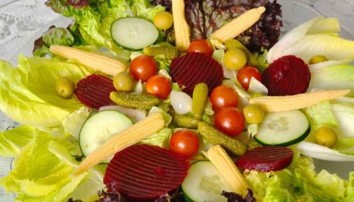 Receta de ensalada de encurtidos - recetas de ensaladas - recetas realfooding o real food