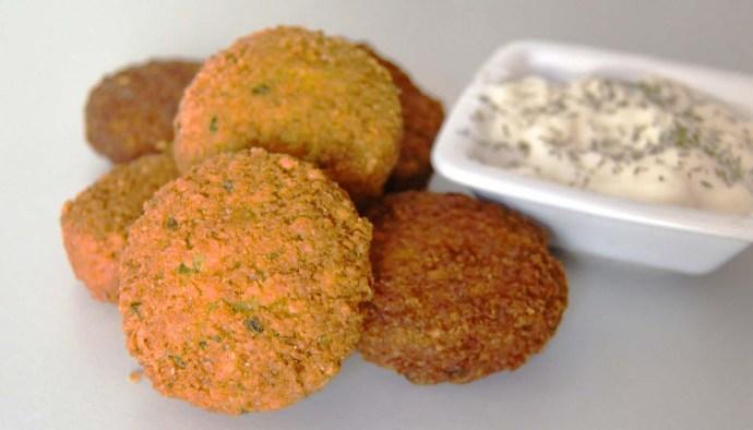 Receta de falafel casero - recetas de garbanzos - recetas de legumbres - recetas realfooding o real food