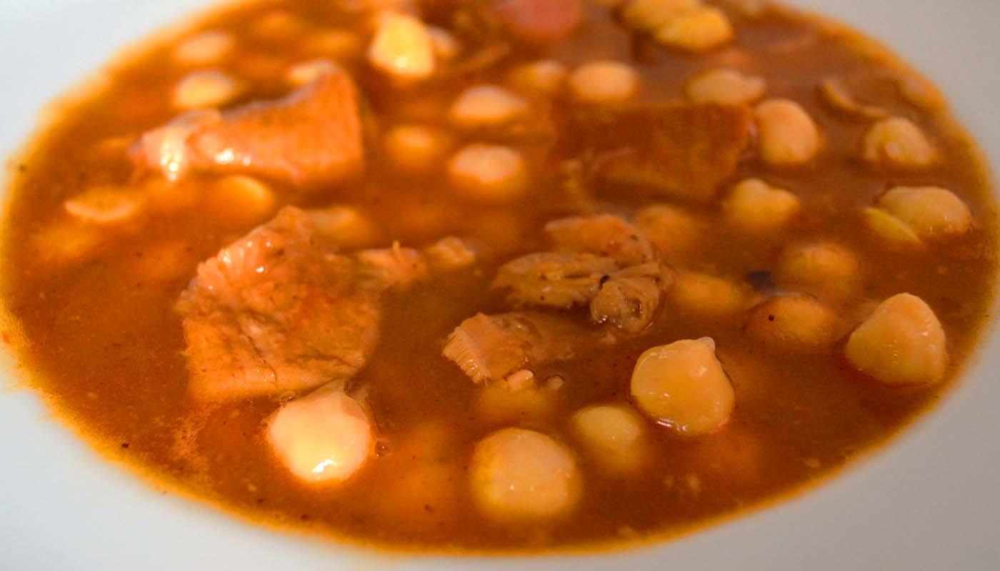Receta de garbanzos con callos a la madrileña - recetas de garbanzos - recetas de legumbres - recetas realfooding o real food