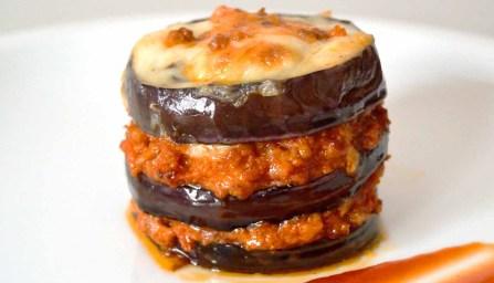 Receta de musaka o mousaka - recetas de verduras al horno - recetas realfooding o real food